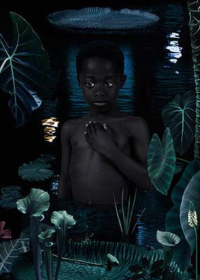 Ruud van Empel Moon 3 2006 118 x 84 cm