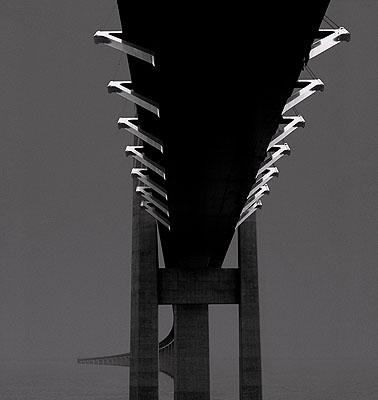 Fie Johansen b. 1953 The Øresund Bridge Connecting Denmark with Sweden, 2005 Courtesy the artist