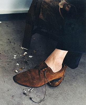 Tina Enghoff b. 1957 The Shoe, 2000 Courtesy the artist