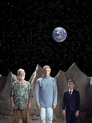 Bjørn Melhus Captain (2005) Videoinstallation © Björn Melhus