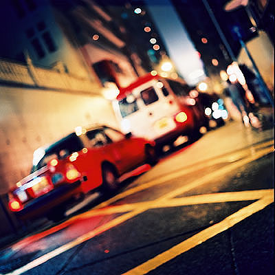 Stadt Träume Hong Kong # 7, 2002, C-Handabzug