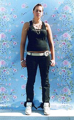 Clara, 14 Jahre, Italien 40 x 50 cm, aus der Serie: Wurzeln 2 © Irina Ruppert