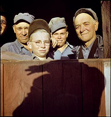 Auslandschweizer Bauern, USA, 1946. FFV/KMB, Dep. GKS. © GKS.
