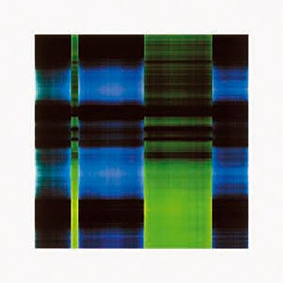 Karl Martin Holzhäuser 88 28 2001 farbiges Licht auf Pe-Colorpapier 120 x 120 cm Unikat