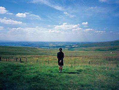 Staring at the mountain nº2, 2006 C-print 125 x 160cm