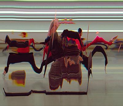 @ Jay Mark Johnson Tai Chi Motion Study #051, 2006