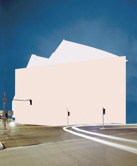 untitled, aus der Serie CITYSCAPE, 2006 lambda print, 120 x 98 cm, Auflage 5