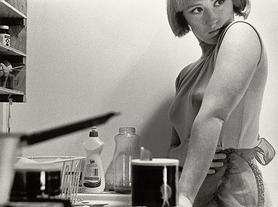 Untitled Film Still #3, 1977, s/w, Auflage 10, 20,3 x 25,4 cm Courtesy Metro Pictures, New York, © Cindy Sherman