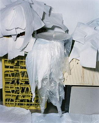 Frozen waterfall 2006, 130 x 160cm, tilled laser-prints