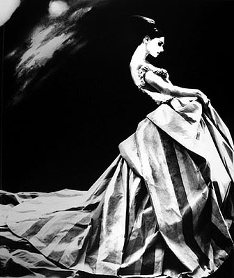 Lillian Bassman, Anneliese Seubert, Paris, NY Times Magazine, 1996
