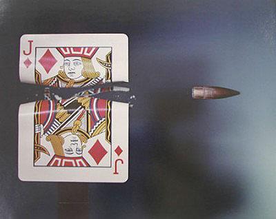 Bullet Through Jack, 1964© Dr Harold EdgertonDye Transfer16 x 22