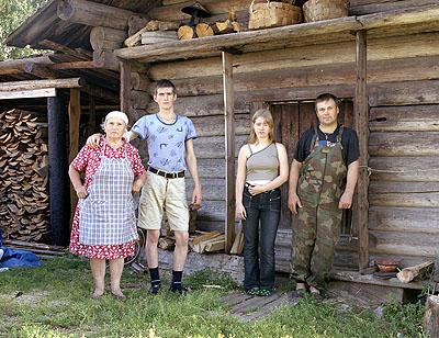 Anastasia Khoroshilova Russkie #12, 2007 c-print on alu, framed, ed.6100 x 125 cm