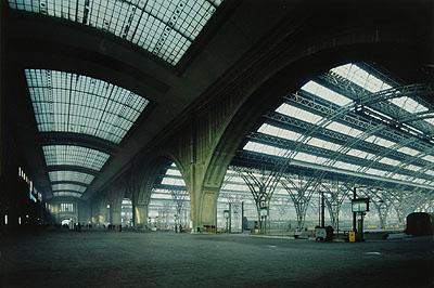 Hauptbahnhof (Central Station) Leipzig 1983