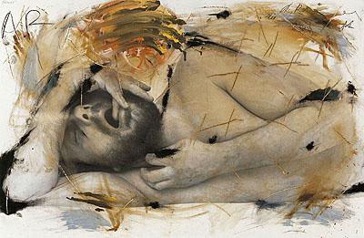 Arnulf Rainer: Schlaf, 1973/74 © Atelier Arnulf Rainer
