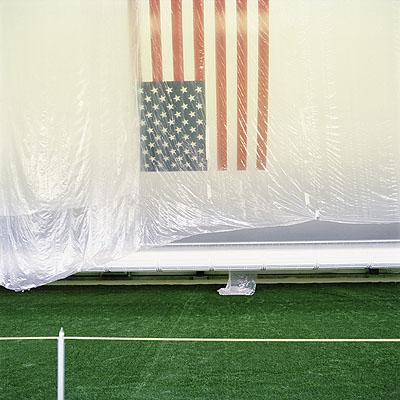 'Flag', 2006, 100x100cm, Edition of 5