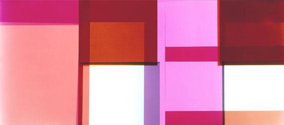 HANNO OTTEN: Lichtbild Nr. 103, 2002unique photogram, 50 x 112.5 cm