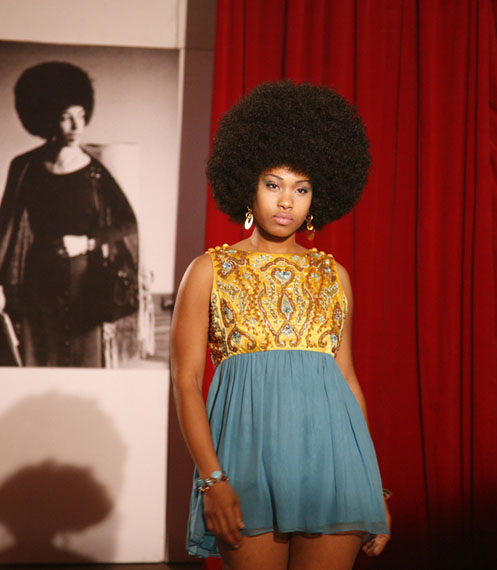 Carrie Mae Weems (American, b. 1953); Detail from Afro Chic, 2009; Video x220