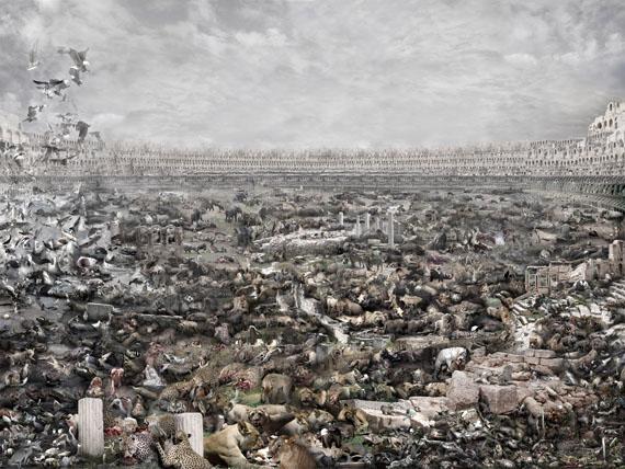 Du ZhenjunColosseum, 2014C-Print contrecollée sur diboncourtesy Galerie RX, Paris