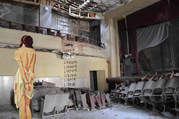 Agnese Purgatorio: Learning by Heart 7, 2014, 80 x 120 cm, Digital Collage, Edition 1/5, courtesy Podbielski Contemporary