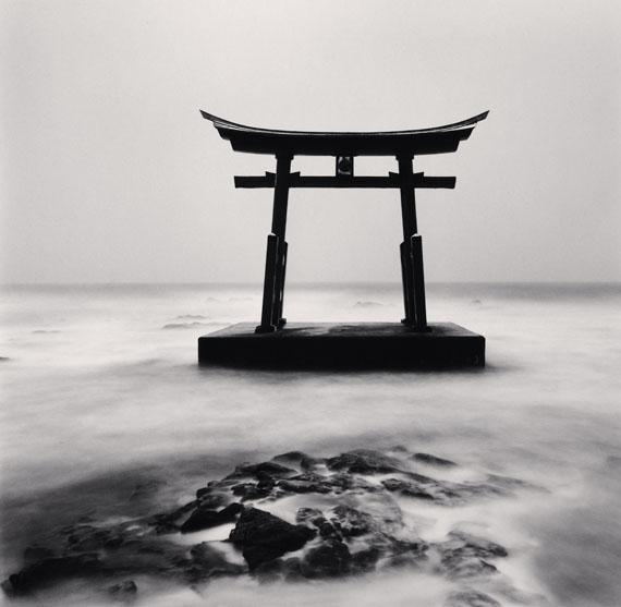 Torii Gate, Study 2, Shosanbetsu, Hokkaido, Japan. 2014 © Michael Kenna