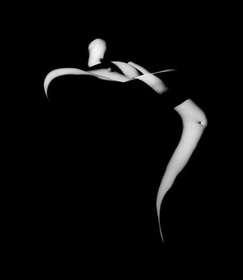 Jacques H. Sehy: SWING, 2004, Fotografie-Lichtzeichnung, 60 x 50 cm © Jacques H. Sehy