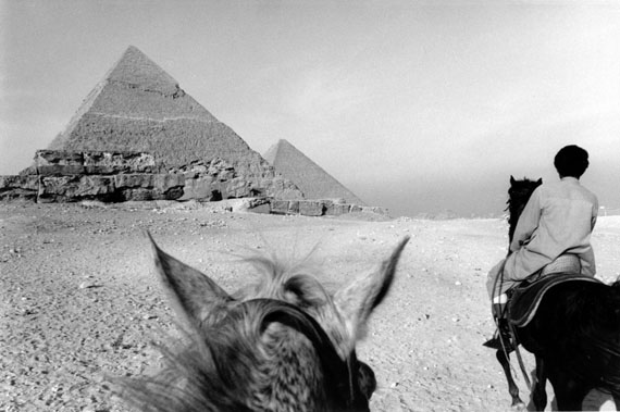 Pyramids and horses - Cairo 1985