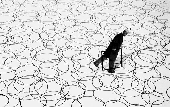 Gilbert Garcin: Der Unterschied, 2004