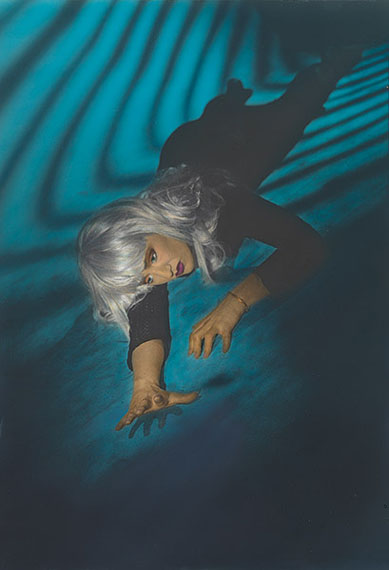 Robyn Stacey, Untitled 1985–87, gelatin silver photograph, colour dye. Courtesy of the artist and Stills Gallery, Sydney
