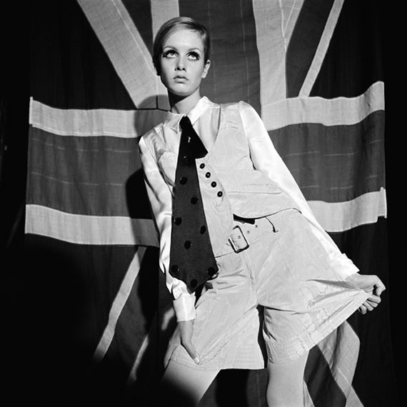 Twiggy, 1966, Photograph Terence Donovan © Courtesy Terence Donovan Archive