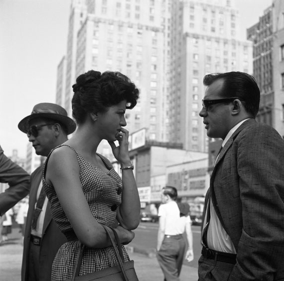 "VIVIAN MAIER: NEW YORK (""MAN AND WOMAN TALKING""), 1959 
