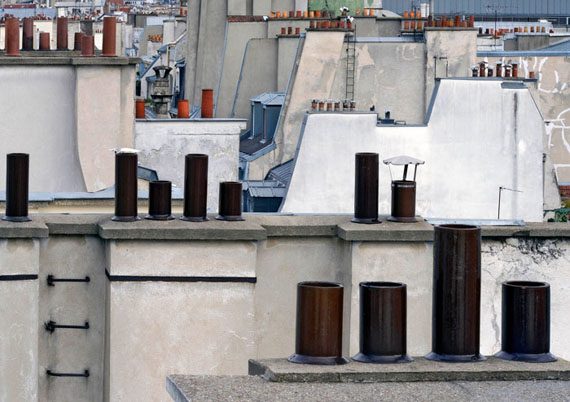 Michael Wolf: Paris Rooftops No.2, 2014