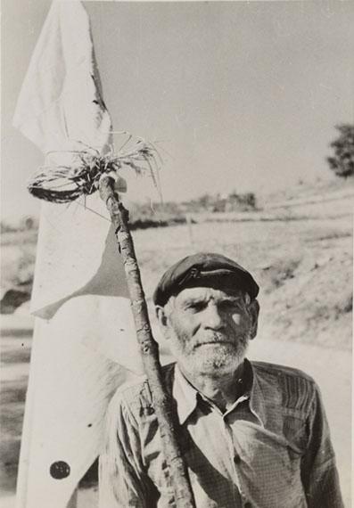 Robert Capa: Redner. Palermo, Sizilien, Juli 1943Silbergelatinepapier, SKD, Kupferstich-Kabinett © Robert Capa / International Center of Photography, Magnum Photos