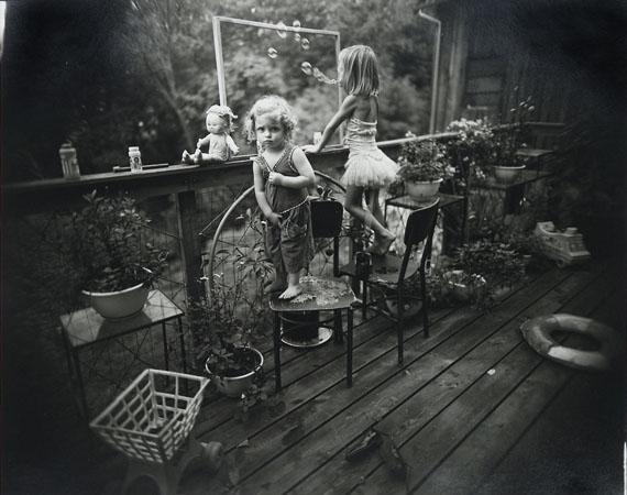 Sally Mann Blowing Bubbles, 1987Gelatin silver print Edition of 258 x 10 in.. Est. 8,000–10,000 USD