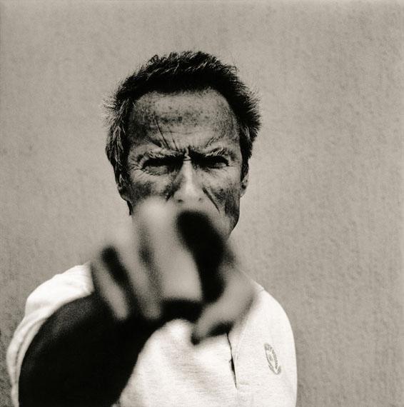 Clint Eastwood, Cannes 1994 © Anton Corbijn