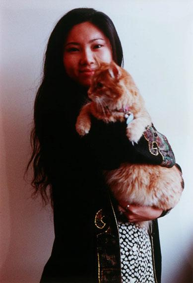 © Dan Graham: Wendy Chang, 1996