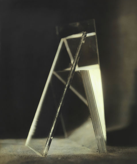Ingar Krauss: ohne Titel, Jena 2014, 52 x 44 cm, Bromsilberpapier, Ölfarbe