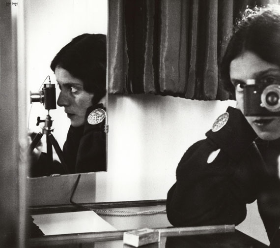 Ilse BingSelf-Portrait with Leica, Paris, 1931Courtesy of Edwynn Houk Gallery