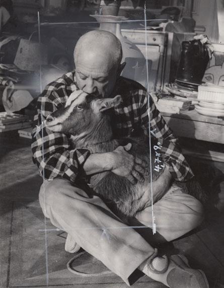 Edward Quinn: Pablo Picasso, Villa La Californie, 1956, Q000121, € 790