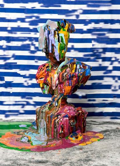Sculpture Study, Figure 2, 2015 © Nico Krijno/The Ravestijn Gallery