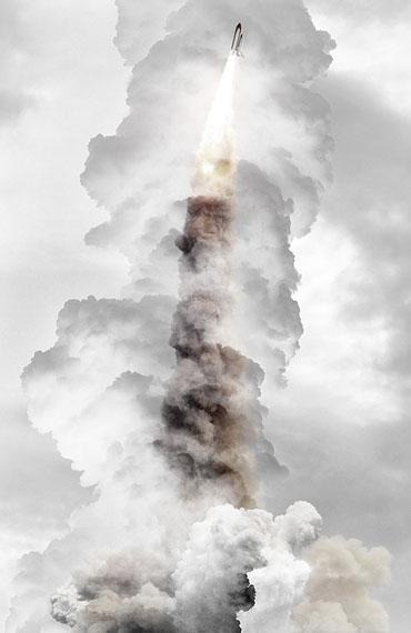 Michael Najjar: final mission (2011), 202 x 132 cm, hybrid photographyarchival pigment print, aludibond, diasec, custom-made aluminium frameCourtesy the artist © Michael Najjar