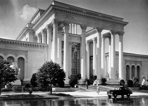 Naum Granovsky. VDNKh. Pavilion of the North Caucasus. Moscow, 1960s