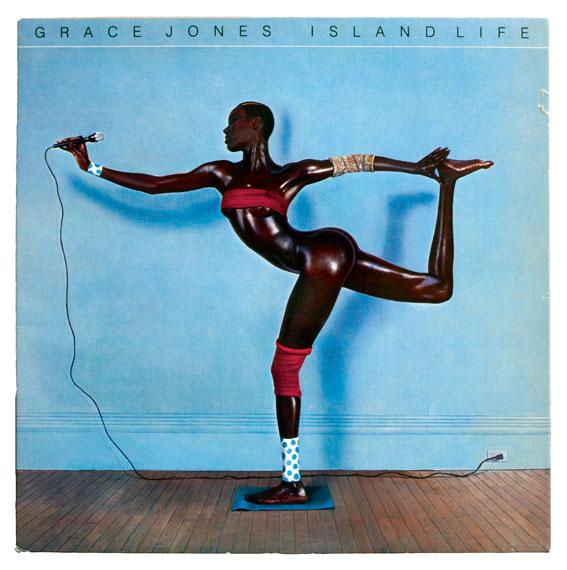 Jean-Paul GoudeGrace Jones, Island Life, 1985 © Island Records