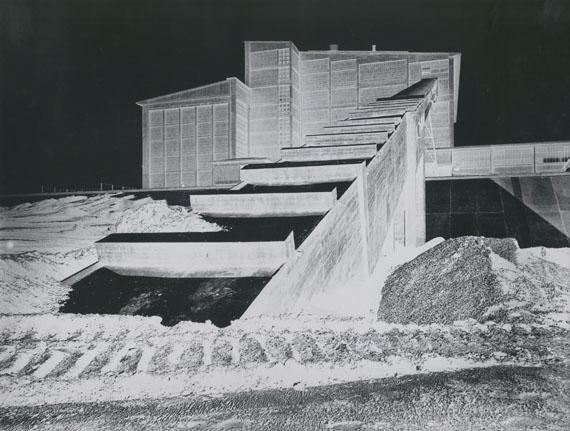 OTTO STEINERT: Power Station Bexbach, 1953Vintage Silbergelatineabzug / Vintage silver print, 30,2 x 39,8 cm© Courtesy Galerie Johannes Faber