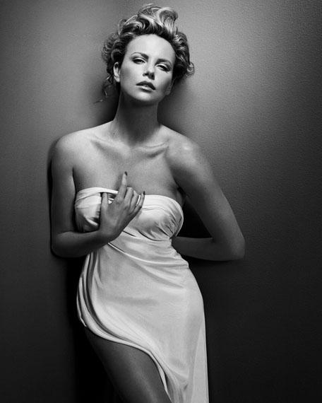 Charlize Theron, New York 2008, 88 x 110 cm, Ltd. Ed. 7