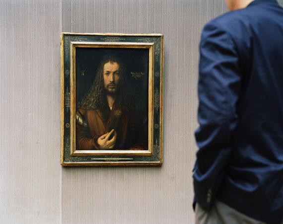 Thomas Struth: Alte Pinakothek, Selbstportrait, München 2000© Thomas Struth