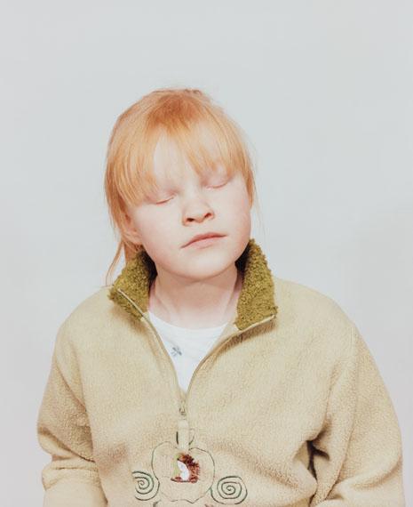 """Oliver Sieber: Julia, Düren, 2003, from the series """"Die Blinden""""© Oliver Sieber"""