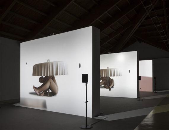 Ed Atkins at Castello di Rivoli Museo d'Arte Contemporanea, installation view 2017 © Ed Atkins