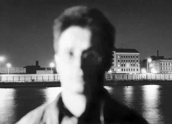 """Kurt Buchwald: aus der Serie """"Unscharfe Portraits"""", Matthias, Berlin 1988"""