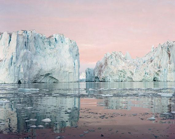 © Olaf Otto Becker, Ilulissat Icefjord 09, 07/200369°11'50'' N, 51°12'54'' W, aus der Serie Broken Line