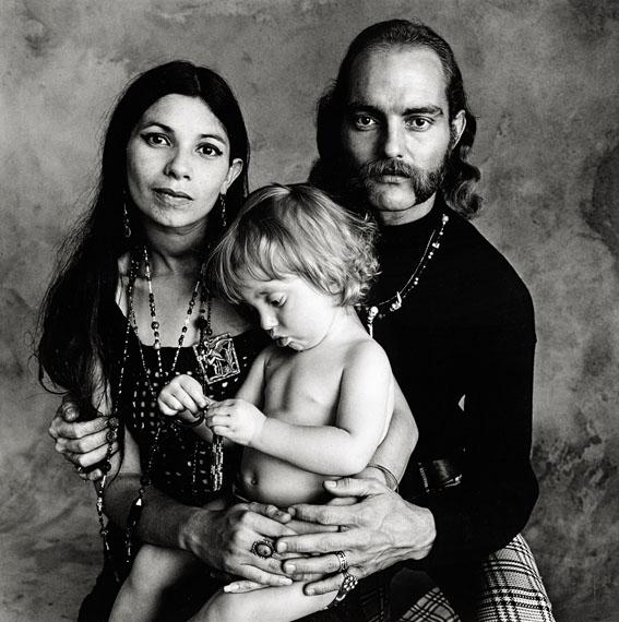 IRVING PENNHippie Family (F), 1967US$ 10,000 - 15,000